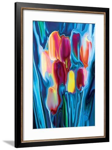 Tulip 2-Rabi Khan-Framed Art Print