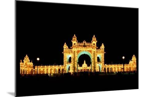 Mysore Palace-Charles Bowman-Mounted Photographic Print