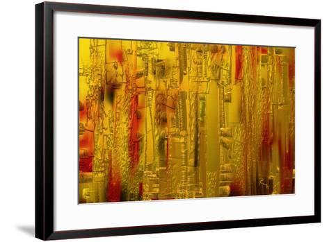 Visual 1-Rabi Khan-Framed Art Print