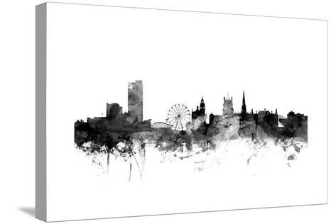 Sheffield England Skyline-Michael Tompsett-Stretched Canvas Print