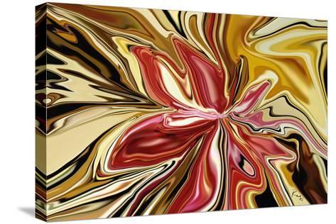 Royal Orchid-Rabi Khan-Stretched Canvas Print