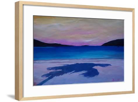 Magen s Bay Caribbean Palm Shadow at Sunset-Markus Bleichner-Framed Art Print