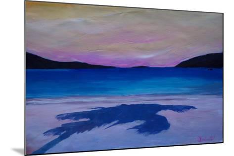 Magen s Bay Caribbean Palm Shadow at Sunset-Markus Bleichner-Mounted Art Print