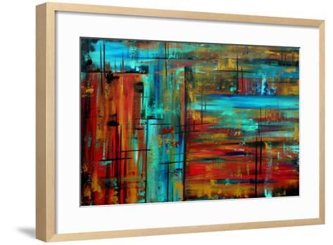 Huge Into Autumn-Megan Aroon Duncanson-Framed Art Print