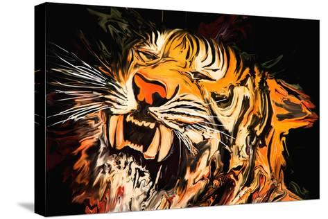 The Tiger-Rabi Khan-Stretched Canvas Print