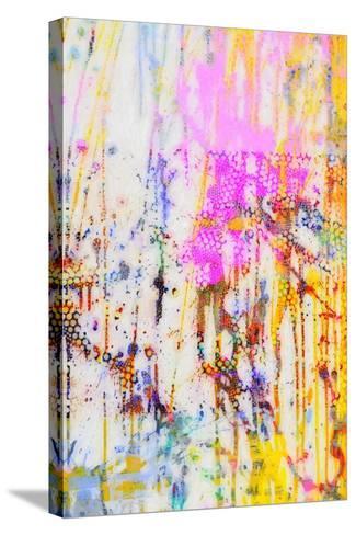 Pop Drip IV-Ricki Mountain-Stretched Canvas Print