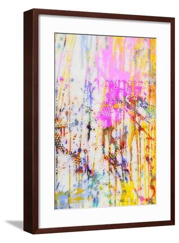 Pop Drip IV-Ricki Mountain-Framed Art Print