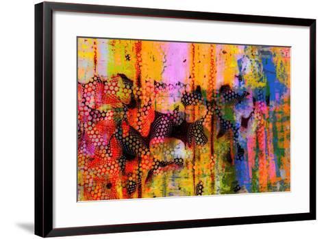 Pop Drip III-Ricki Mountain-Framed Art Print