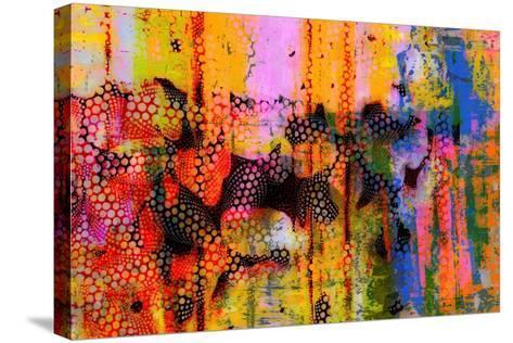 Pop Drip III-Ricki Mountain-Stretched Canvas Print