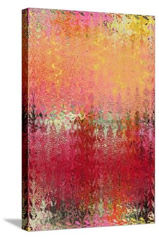Dew and Waves-Ricki Mountain-Stretched Canvas Print