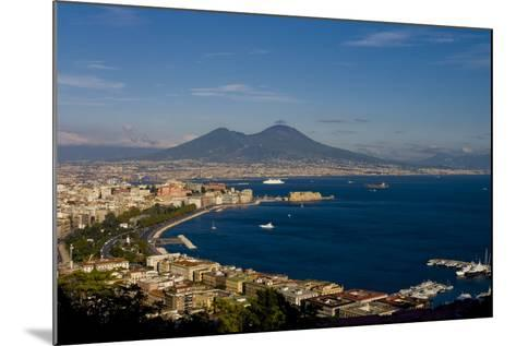 Vesuvius And Naples-Charles Bowman-Mounted Photographic Print