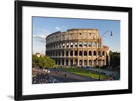 Colosseum Rome-Charles Bowman-Framed Art Print