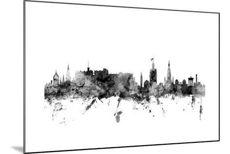 Edinburgh Scotland Skyline-Michael Tompsett-Mounted Art Print