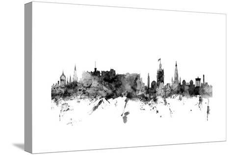 Edinburgh Scotland Skyline-Michael Tompsett-Stretched Canvas Print