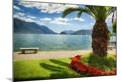 Lake View From Menaggio-George Oze-Mounted Photographic Print