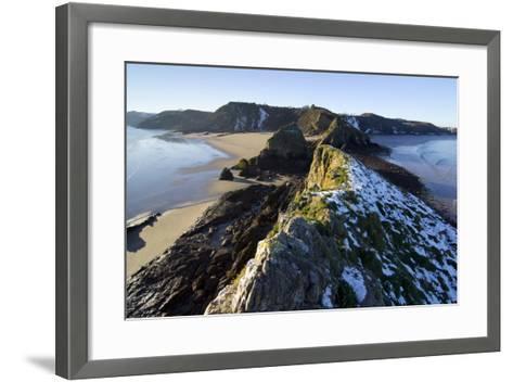 Wales Coast 3-Charles Bowman-Framed Art Print