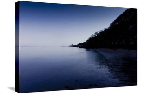 Wales Seascape-Charles Bowman-Stretched Canvas Print