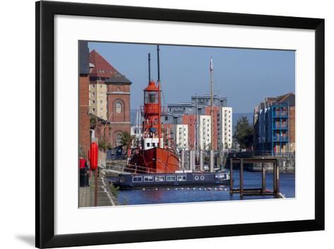 Swansea-Charles Bowman-Framed Art Print