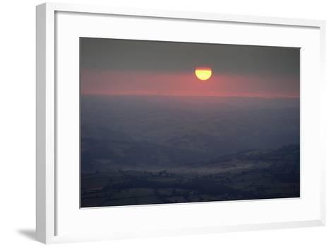Sunset Wales 1-Charles Bowman-Framed Art Print