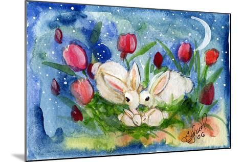 Bunny Family-sylvia pimental-Mounted Art Print