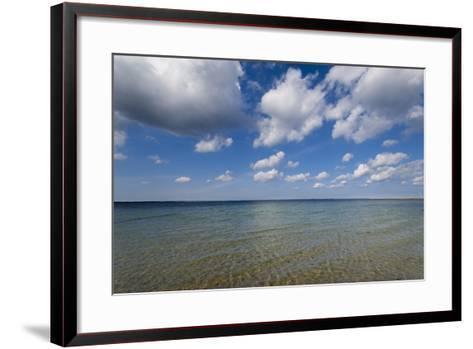 Baltic Beach-Charles Bowman-Framed Art Print