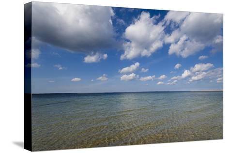 Baltic Beach-Charles Bowman-Stretched Canvas Print