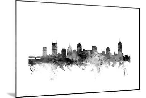 Nashville Tennessee Skyline-Michael Tompsett-Mounted Art Print