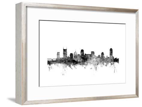 Nashville Tennessee Skyline-Michael Tompsett-Framed Art Print
