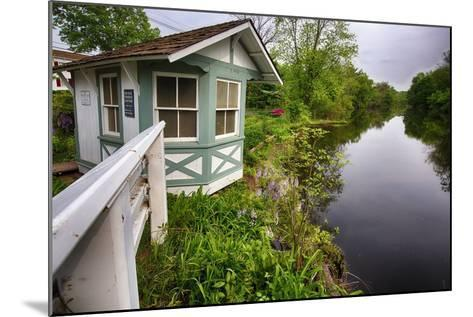 Bridge Tender House On The D&R Canal, New Jersey-George Oze-Mounted Photographic Print