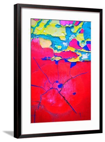 Paint Peeling-Charles Bowman-Framed Art Print
