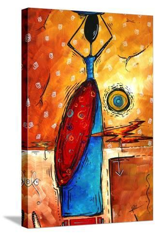 African Queen-Megan Aroon Duncanson-Stretched Canvas Print