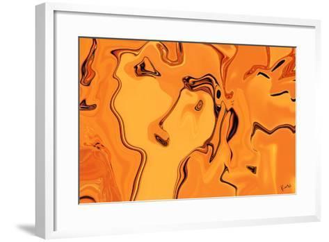 spring love-Rabi Khan-Framed Art Print