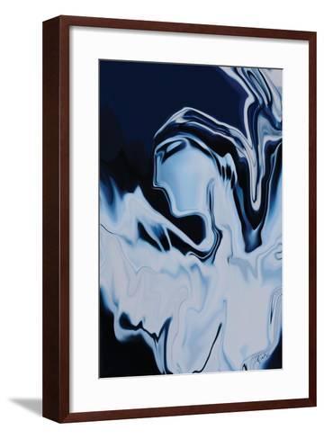 Angel in Blue-Rabi Khan-Framed Art Print