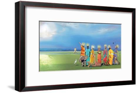 The Children Of Creation-Nancy Tillman-Framed Art Print