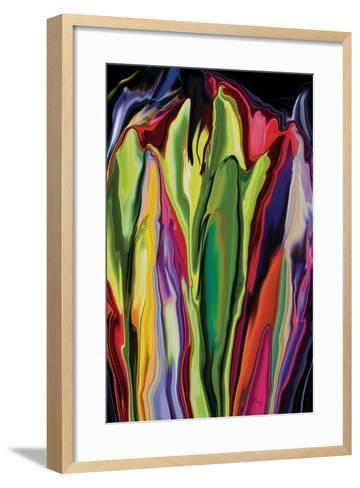 flowers of Eden 7-Rabi Khan-Framed Art Print