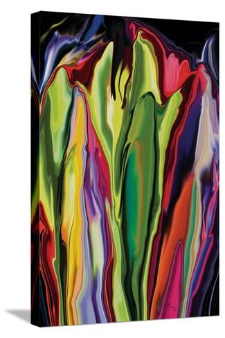 flowers of Eden 7-Rabi Khan-Stretched Canvas Print