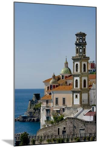 Atrani Church Tower Italy-Charles Bowman-Mounted Photographic Print