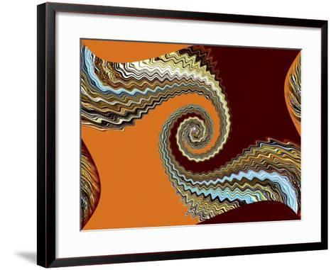 Middle Ground 2-Ruth Palmer-Framed Art Print