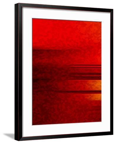 Line Break One-Ruth Palmer-Framed Art Print