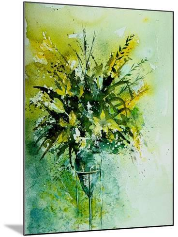 Watercolor 120406-Pol Ledent-Mounted Art Print