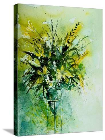 Watercolor 120406-Pol Ledent-Stretched Canvas Print