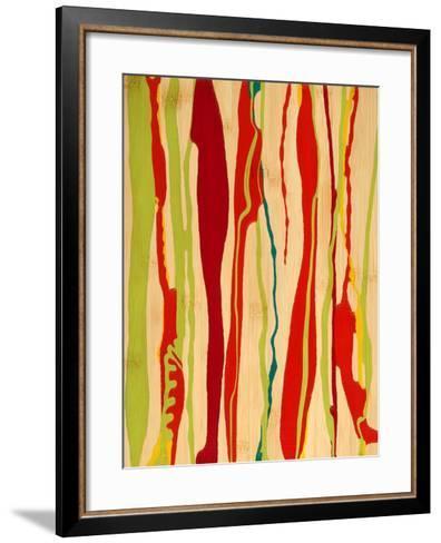 Drip I-Ricki Mountain-Framed Art Print