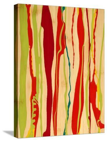 Drip I-Ricki Mountain-Stretched Canvas Print