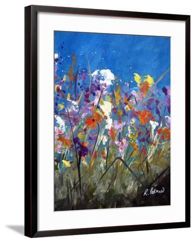 Pollen Party 2-Ruth Palmer-Framed Art Print