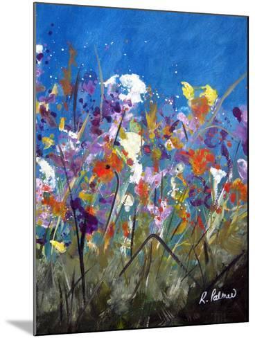 Pollen Party 2-Ruth Palmer-Mounted Art Print