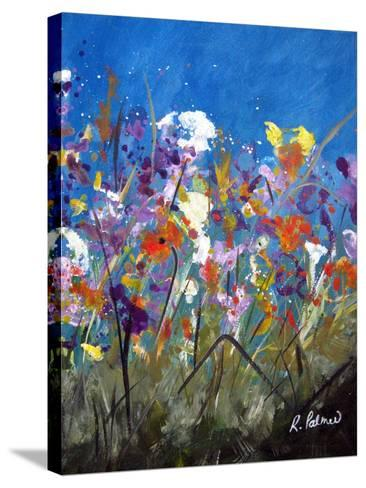 Pollen Party 2-Ruth Palmer-Stretched Canvas Print