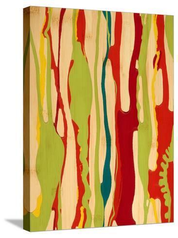 Drip II-Ricki Mountain-Stretched Canvas Print