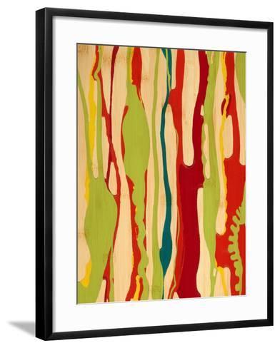 Drip II-Ricki Mountain-Framed Art Print