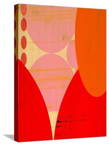 Urban Dew I-Ricki Mountain-Stretched Canvas Print