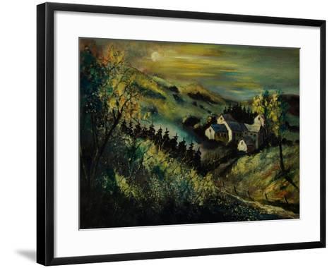 Village Ardennes Belgium-Pol Ledent-Framed Art Print